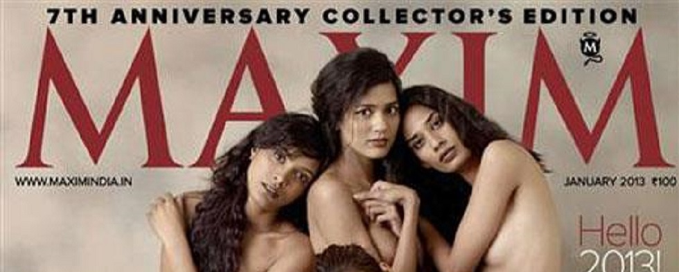 Nude MAXIM India Magazine Cover: The Double-Standard For Women