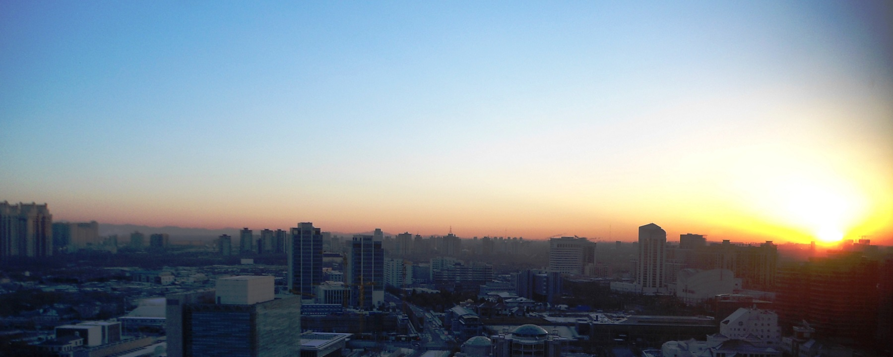 Sunny and Blue Skies – Day 1 of My New Life in Beijing, China