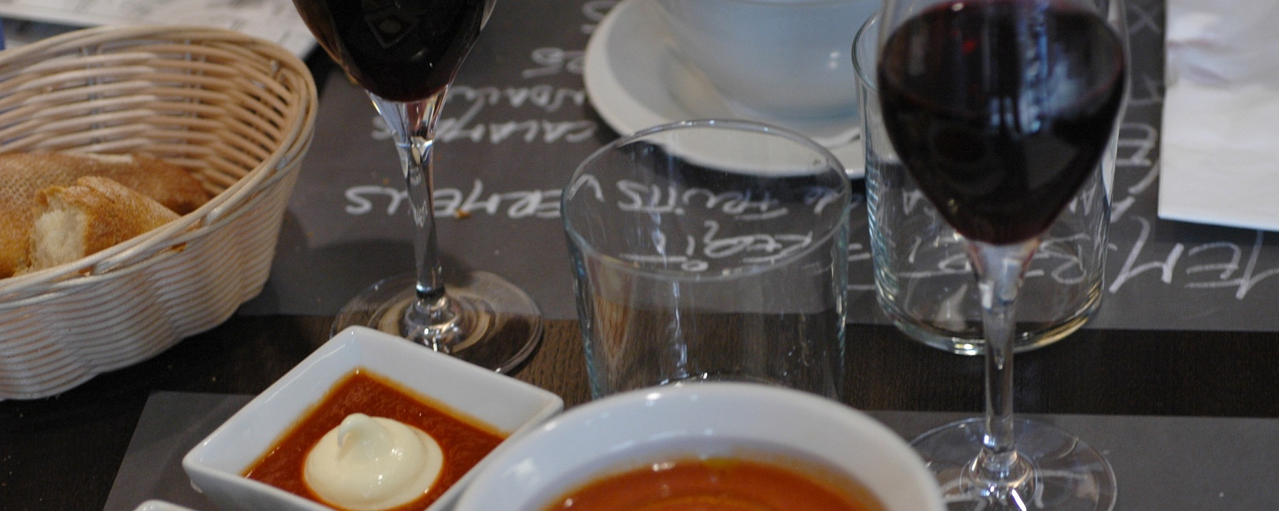 Wine, Mama's Cookin' or Organic? What Makes Lunch Special in Spain, India and America!