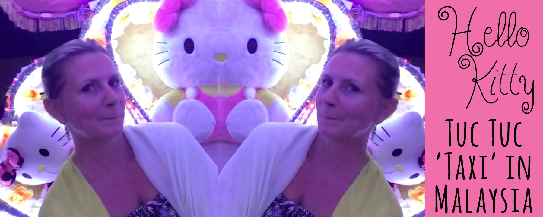 What Fun! Hello Kitty Taxi in Malacca Malaysia – A UNESCO World Heritage City
