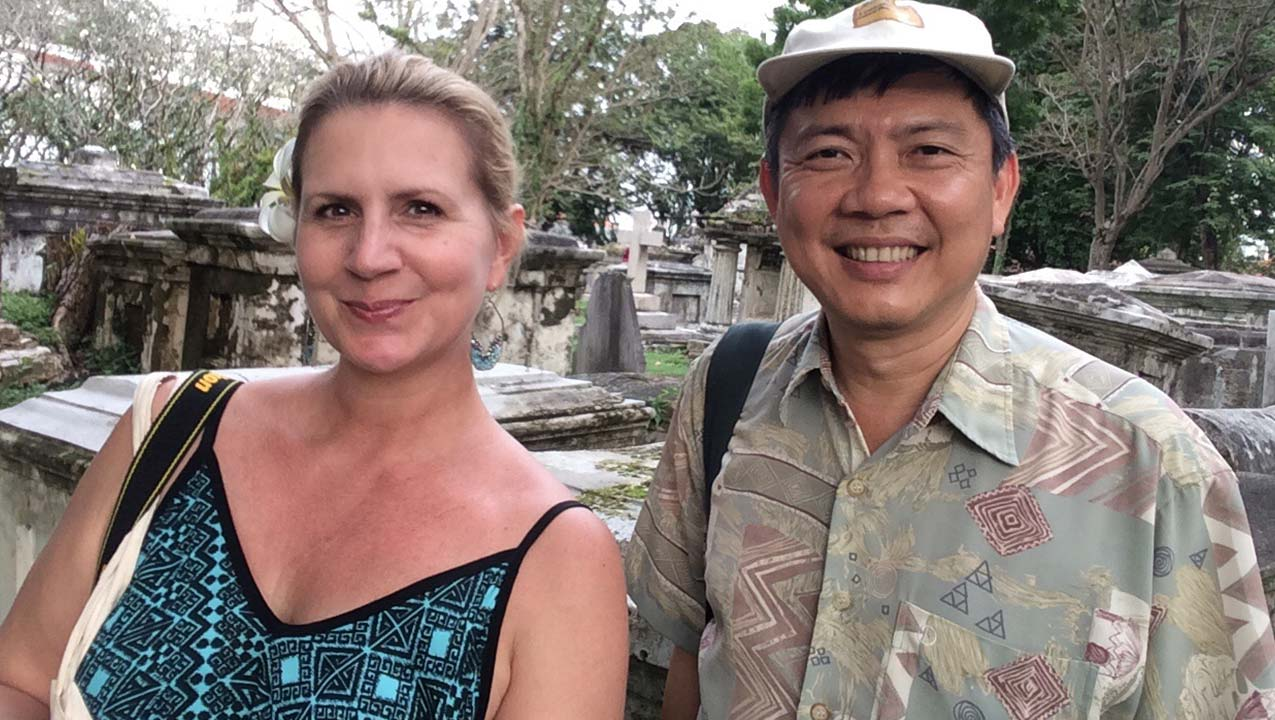 Penang   Old Protestant Cemetery Tour with Clement Liang