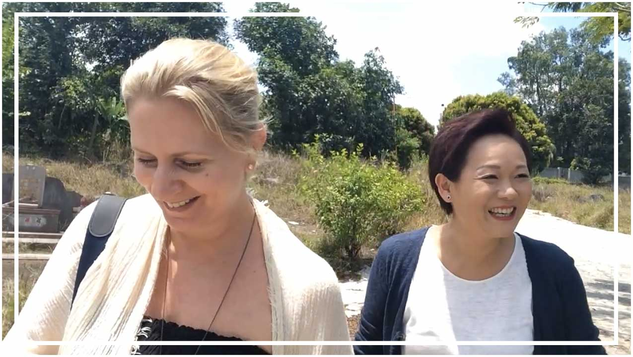 Exploring Chinese Cemetery with Li Kim from The Paranormal Zone