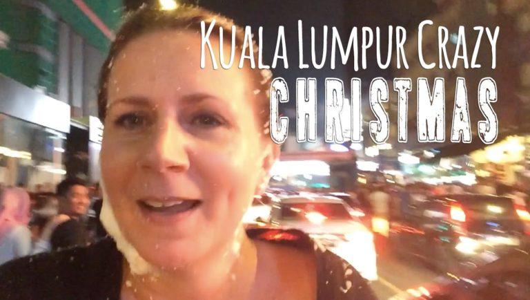 Never Again! Christmas in Kuala Lumpur at Bukit Bintang Parade