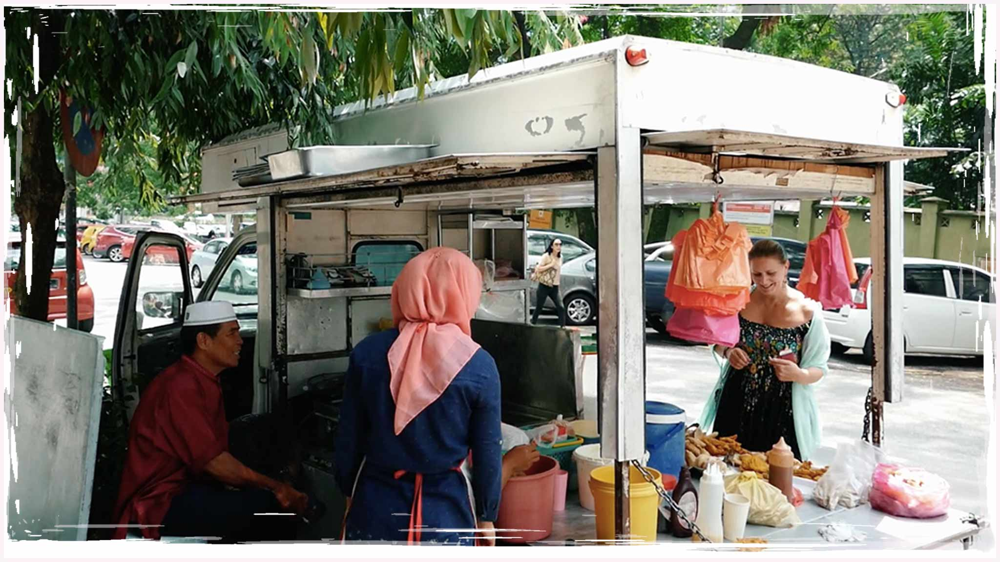 VLOG | Kuala Lumpur Fried Banana Street Food