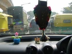 On my way to work... enjoying the mayhem!
