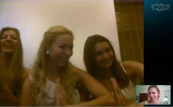 During our video Skype - Alina, Jane and Lidiia were in Delhi and I was in Bangalore.