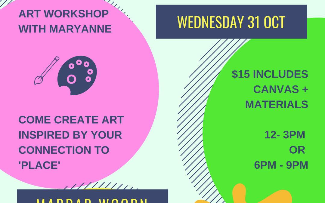 Place – Mini Canvas Workshops