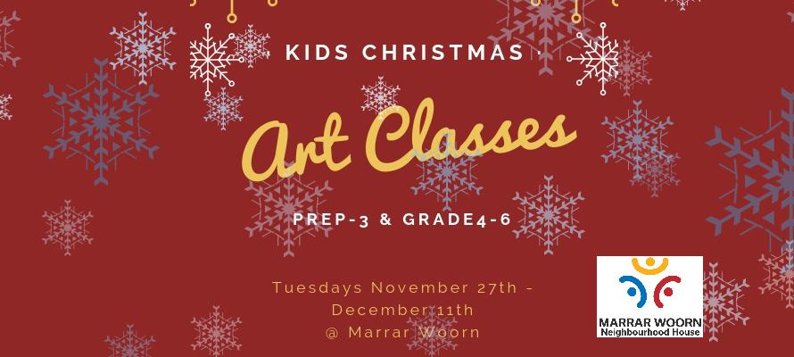 After-School Christmas Art Classes