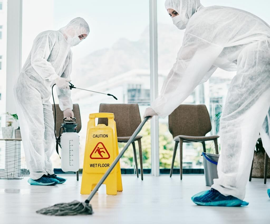 coronavirus cleaning and sanitation services
