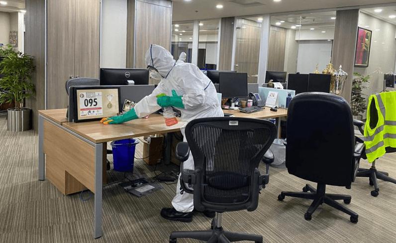 coronavirus sanitation service