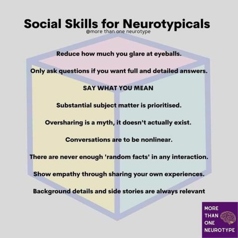 Social Skills for Neurotypicals