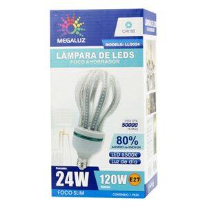 Foco LED 24W tipo Pulpo