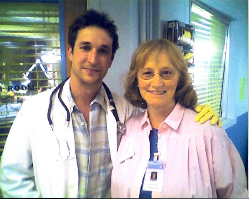 Lisa and Noah Wylie on ER