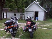 Riding to the Loving Farm in Iowa.