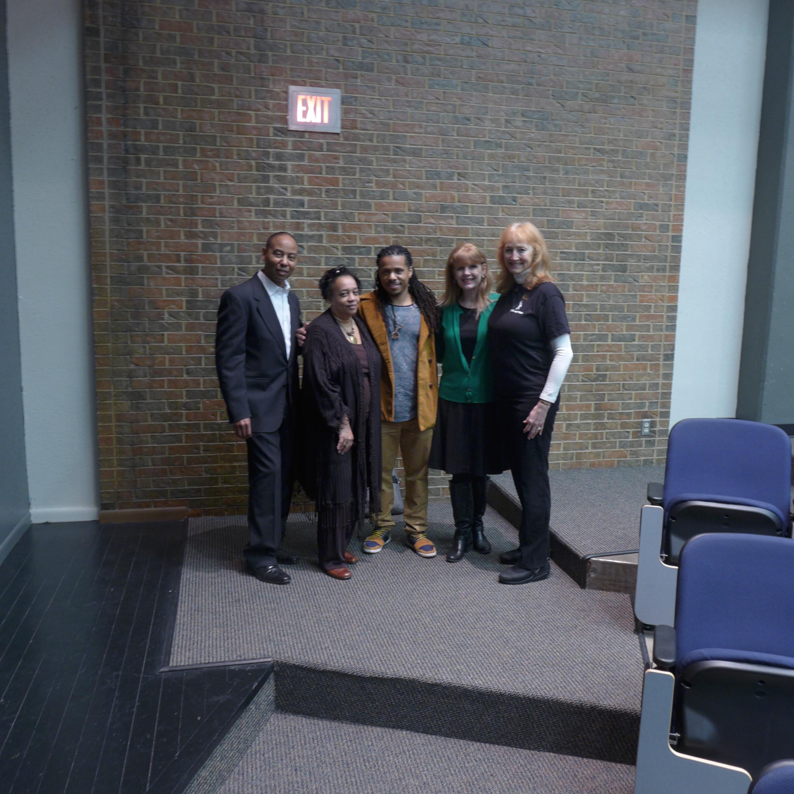 Master Teacher LIsa Dalton speaks at Tarrant County College
