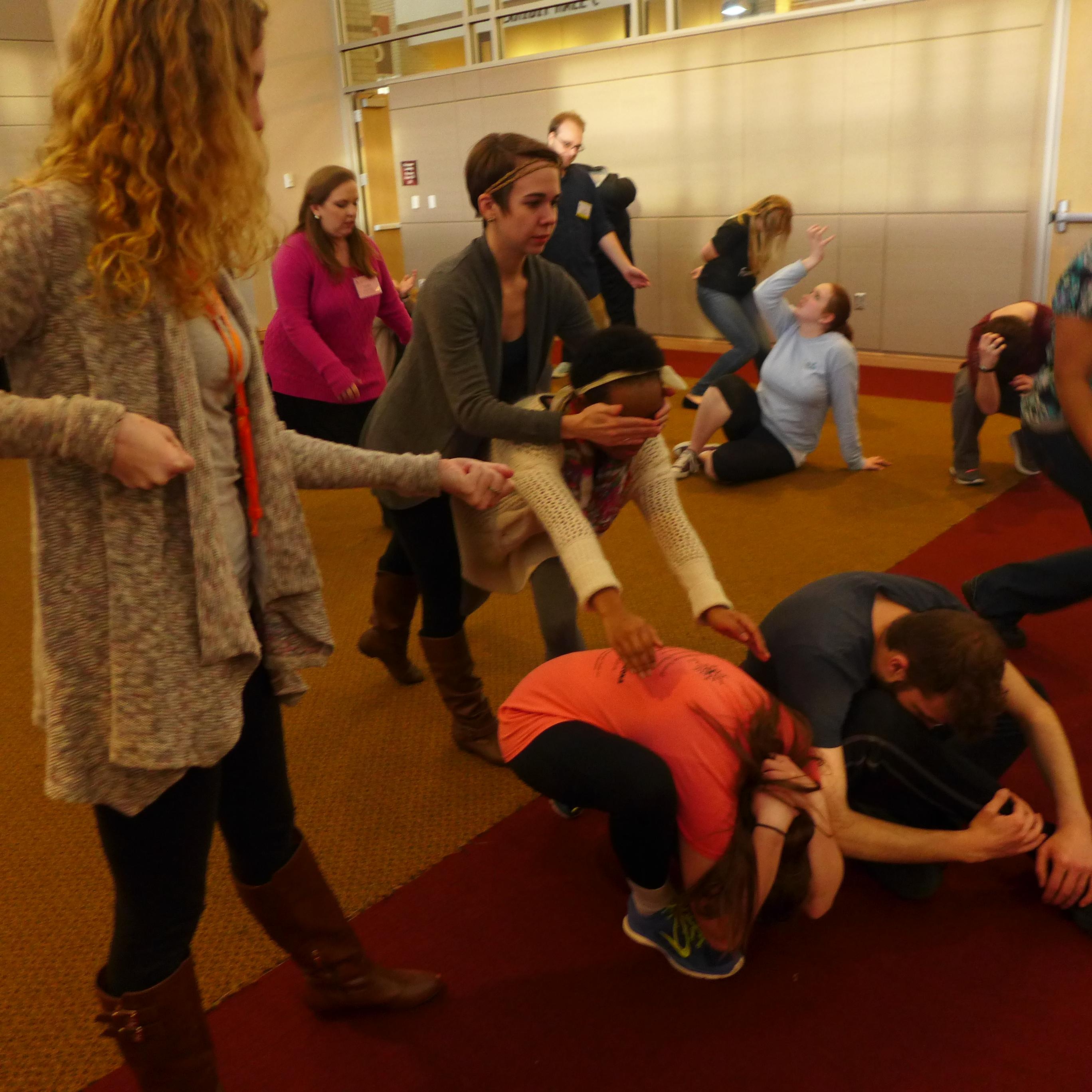 Michael Chekhov Master Teacher Lisa Dalton teaches at SETC