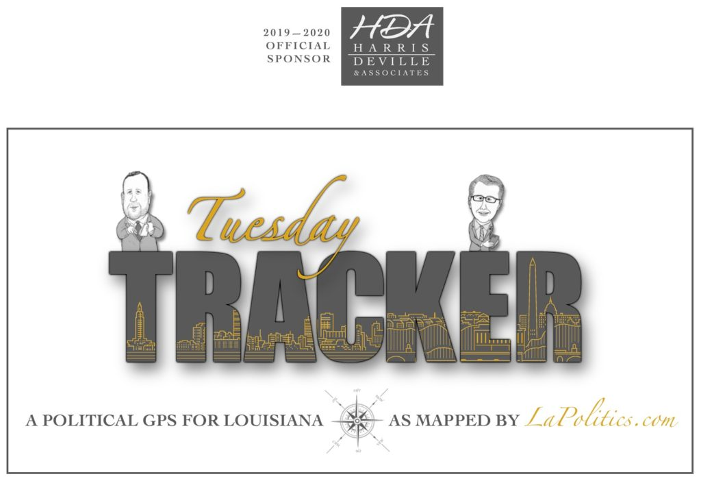 The Tuesday Tracker, Sponsored by Harris, DeVille & Associates