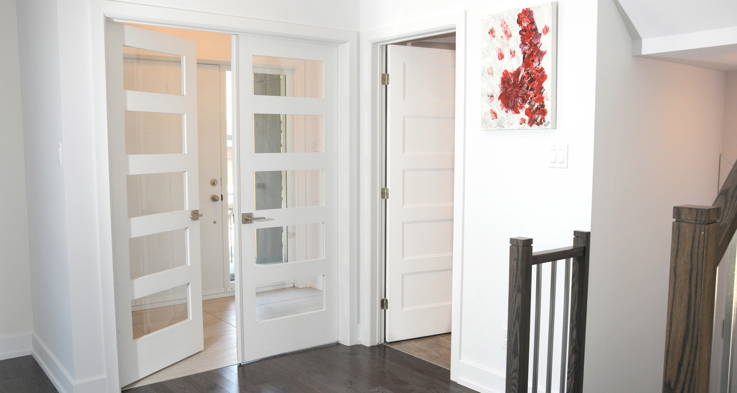 Milette 805H 5 Lite Clear French Interior Doors