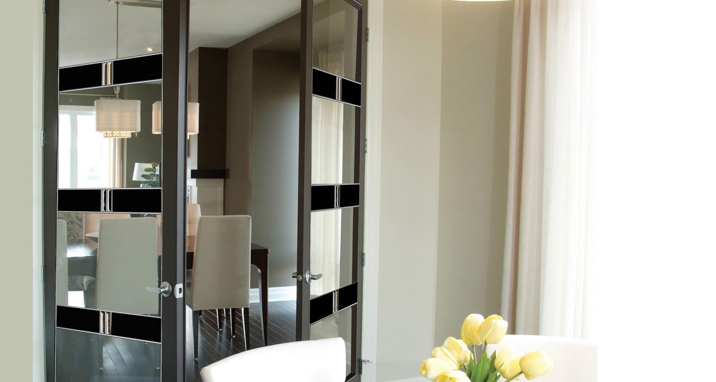 Milette Royal Collection Atrix Clear Pine interior door