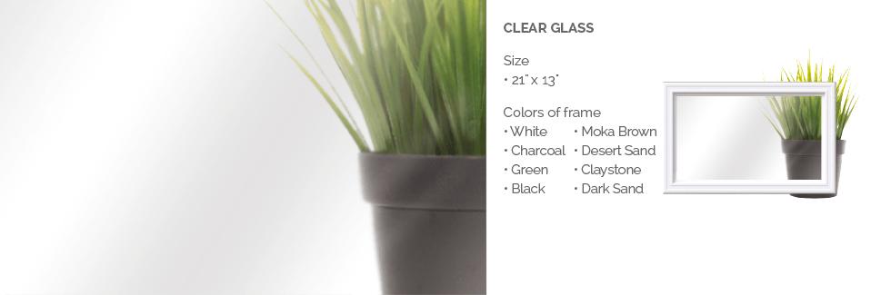 Clear Glass for Garaga garage door windows