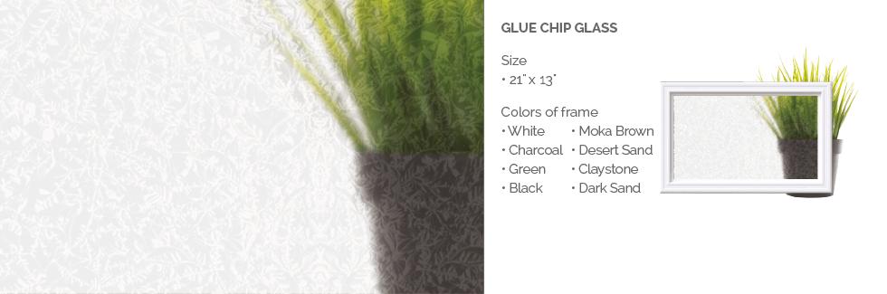 Glue Chip Glass for Garaga garage door windows