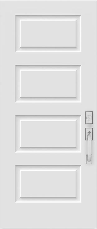 soho exterior steel door slab