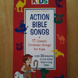 Action Bible songs vhs tape