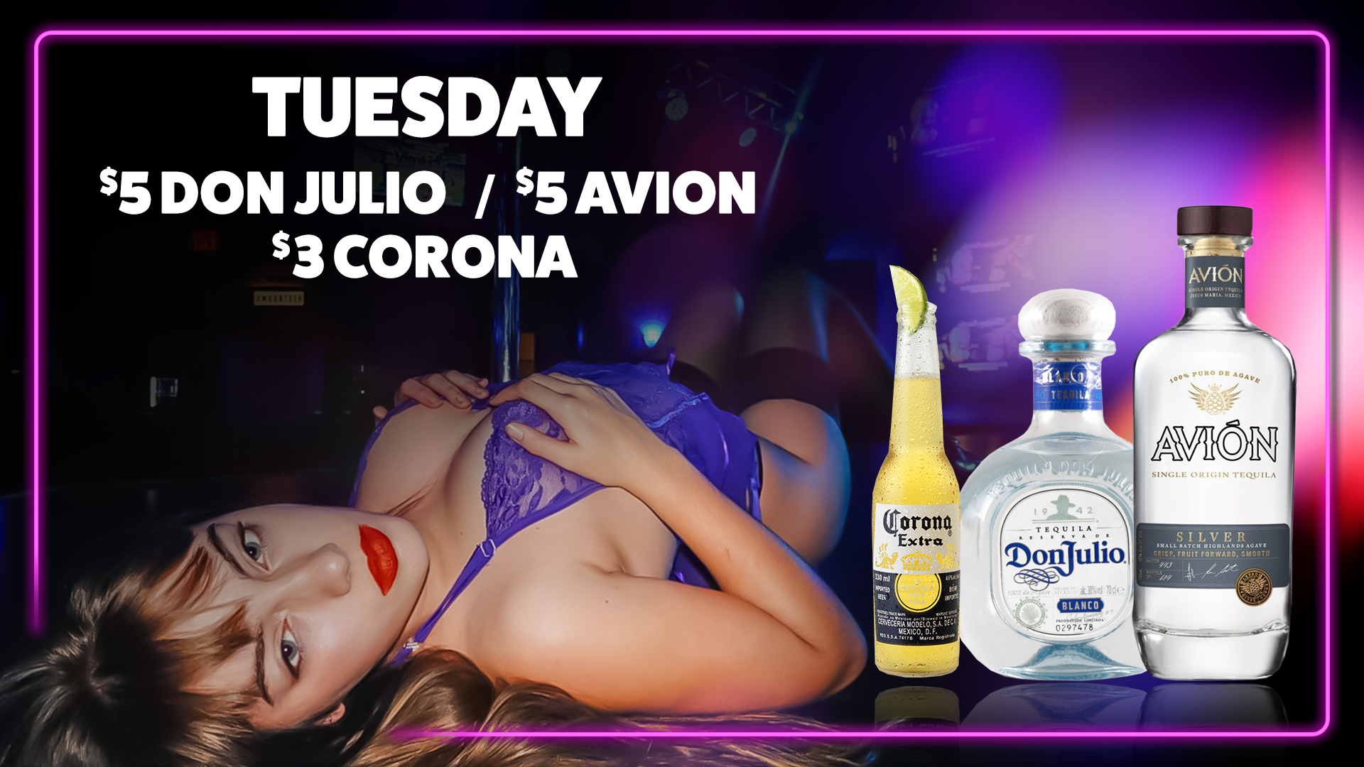 2-Drink Special - Tuesday 2020