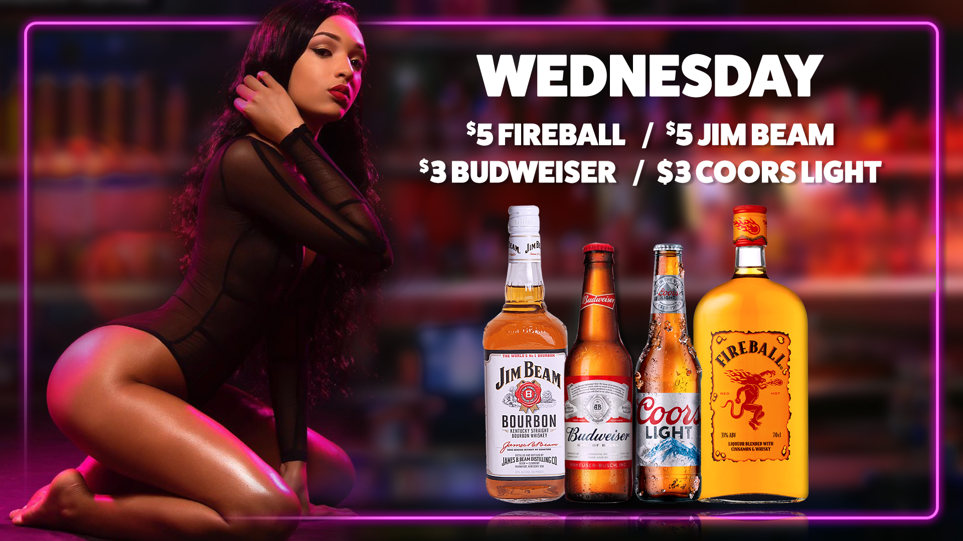 3-Drink Special - Wednesday 2020