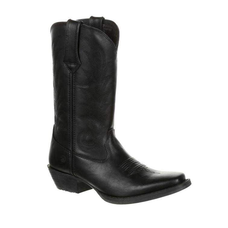 Durango Women's Black Leather Western Boot