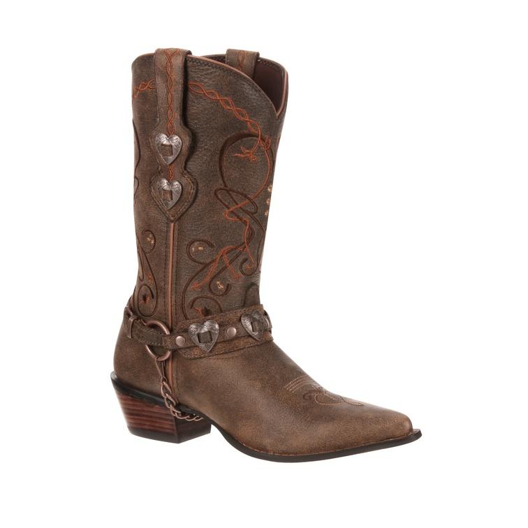 Crush by Durango Women's Brown Heartbreaker Boot