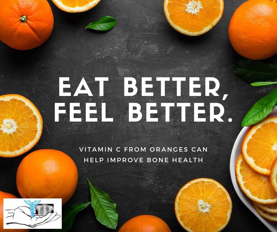 Oranges- Eat better, feel better