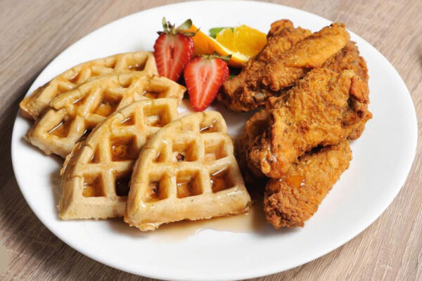 Ds chicken and waffles