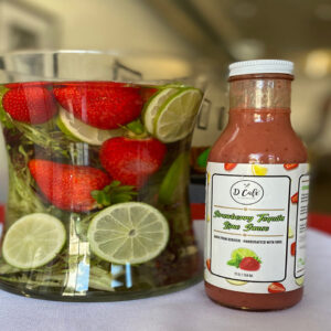 d cafe Strawberry Tequila Lime Sauce