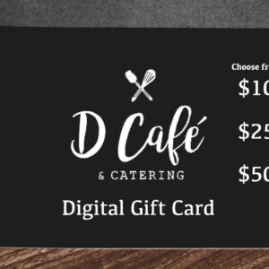 d cafe gift card