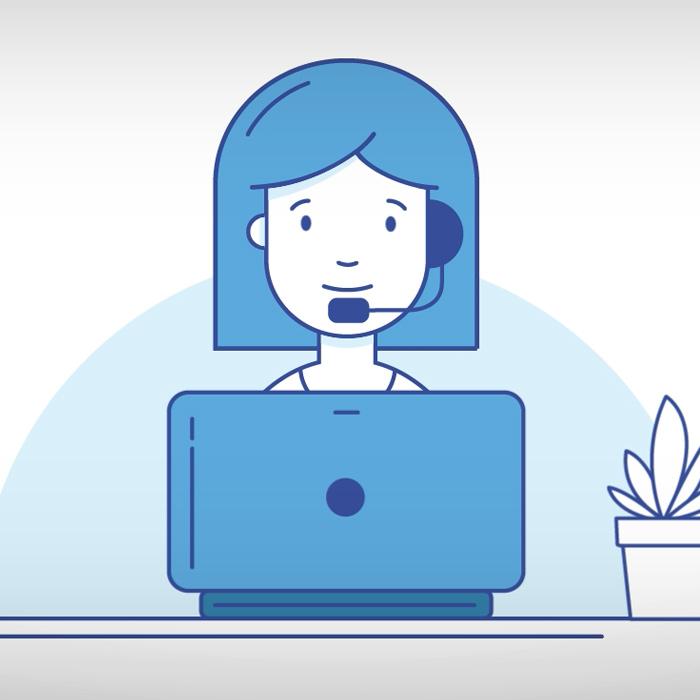 Service Center Animation