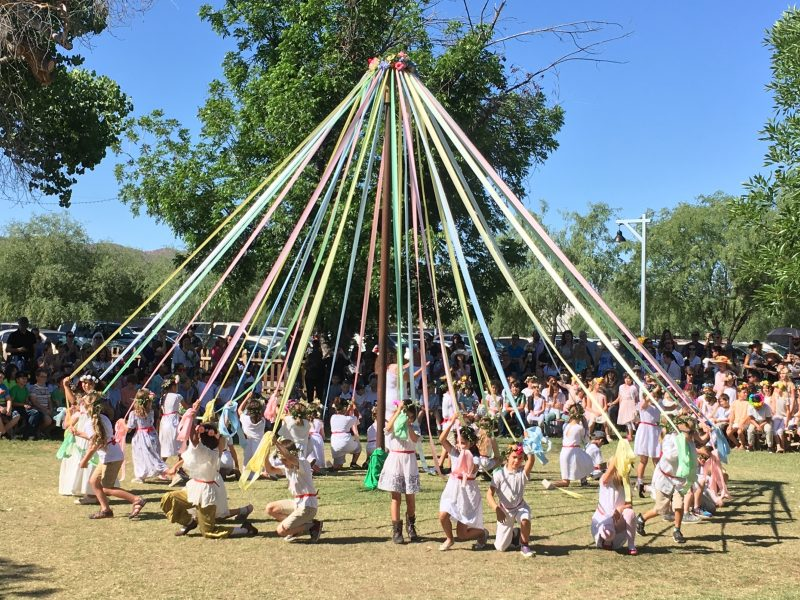 May pole celebration