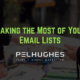 Making the Most of Your Email Lists - pel hughes print marketing new orleans la