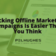 Tracking Offline Marketing Campaigns Is Easier Than You Think - Pel Hughes print marketing new orleans