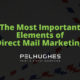 The Most Important Elements of Direct Mail Marketing - Pel Hughes print marketing new orleans