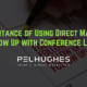 Importance of Using Direct Mail to Follow Up with Conference Leads - pel hughes print marketing new orleans la