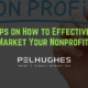 5 Tips on How to Effectively Market Your Nonprofit - pel hughes print marketing new orleans la