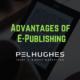 Advantages of E-Publishing - pel hughes print marketing new orleans la