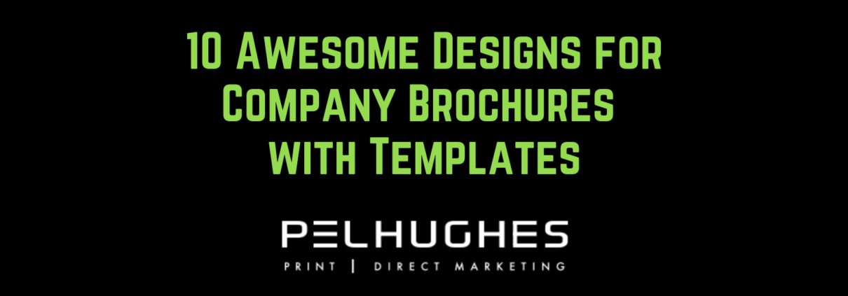 10 Awesome Designs for Company Brochures with Templates - pel hughes print marketing new orleans la