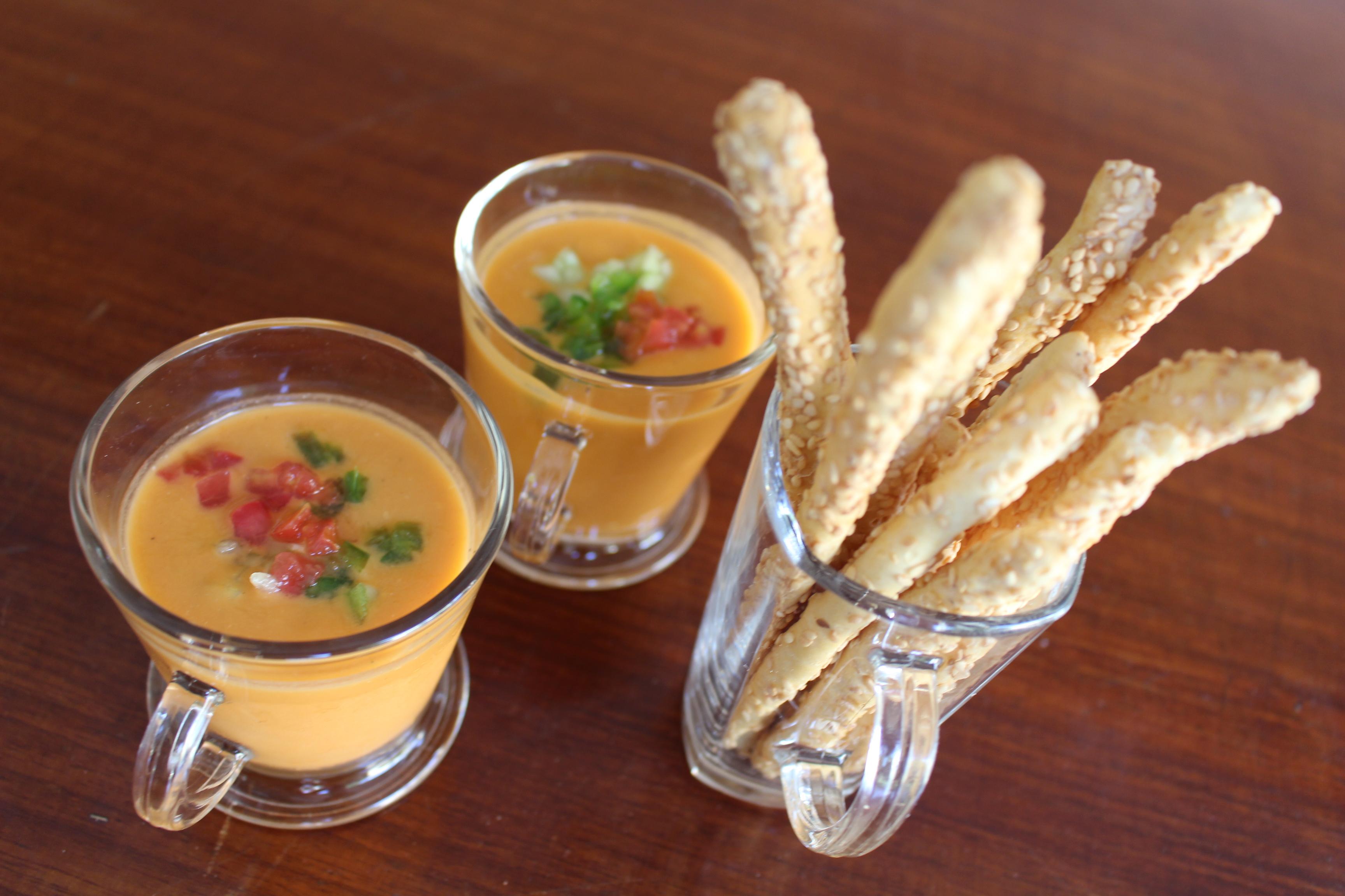 Gazpacho - Refrescante sopa fria