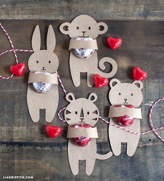 bichinhos de craft dia do abraço