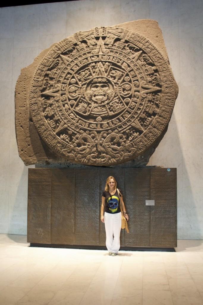 pedra do sol museu de antropologia México