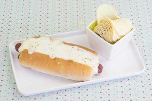 hotdog-de-linguicinha cremoso