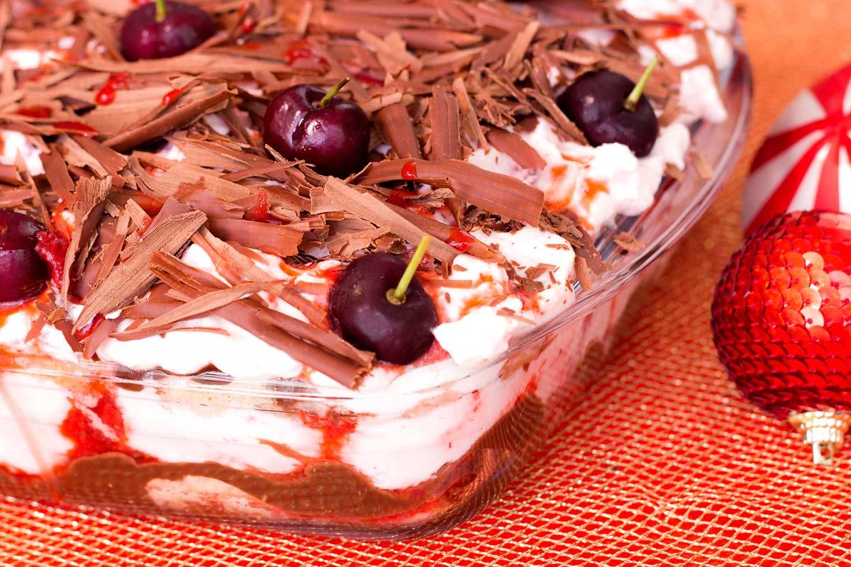 Pavetone de Cereja e Chocolate