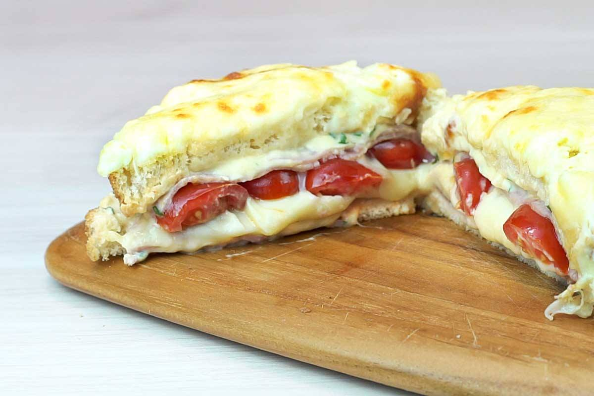 croque monsieur super fácil